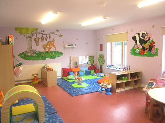 Kiddy academy baby room, creche navan, baby aftercare